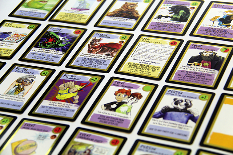 custom card game printing | create your card game with printninja