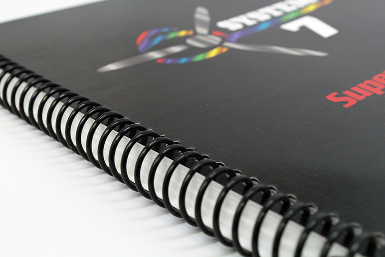 Spiral Binding Printninja Makes Offset Printing Affordable