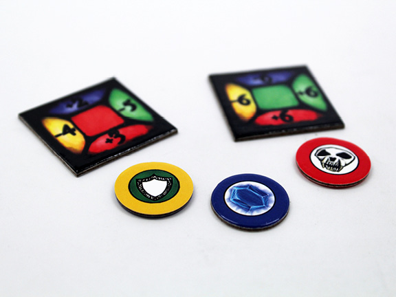 PrintNinja Punch-Out Tokens
